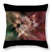 Indigenous Spirits Throw Pillow