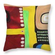 Indiginous Throw Pillow