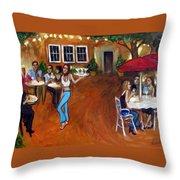 Indigo Alley Throw Pillow