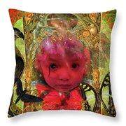 Indigo Child Throw Pillow