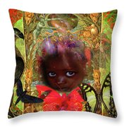 Indigo Children Throw Pillow