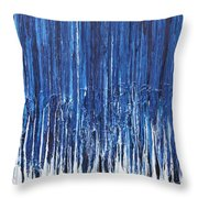 Indigo Soul Throw Pillow by Ralph White