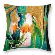 Indigold Throw Pillow