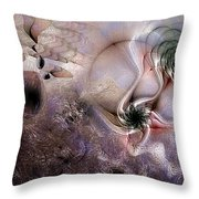Individuation Contravened Throw Pillow