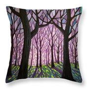 Indivisibly Intertwined Throw Pillow