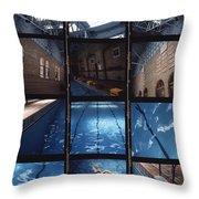 Indoor Pool Throw Pillow