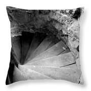 Indoor Spiral Throw Pillow