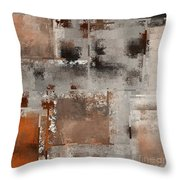Industrial Abstract - 01t02 Throw Pillow
