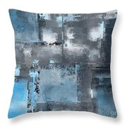 Industrial Abstract - 10t Throw Pillow