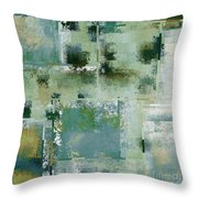 Industrial Abstract - 17t Throw Pillow