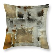 Industrial Abstract - 24t Throw Pillow