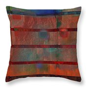 Industrial Abstract 5 Throw Pillow by Andy  Mercer