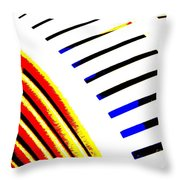 Industrial Art I Throw Pillow