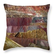 Industrial Colorscape Throw Pillow