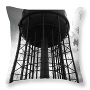 Industrial Eclipse Throw Pillow