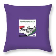 Industrial Gates Timing Belts In Uae Throw Pillow