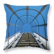 Industrial Ladder Throw Pillow