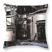 Industrial Manufacturing Throw Pillow