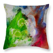 Industrial Rain Throw Pillow