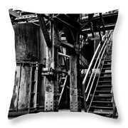 Industry Abandoned  Throw Pillow