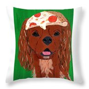 Indy - Pizza Throw Pillow
