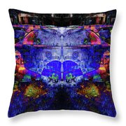 Inebrium Throw Pillow