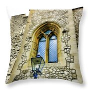 Infamous White Tower Of London Throw Pillow