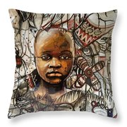 Infantile Expeditions Throw Pillow