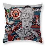 Infections Throw Pillow