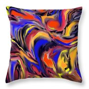 Infinit Complexity Four Throw Pillow