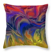 Infinite Complexity Six Throw Pillow
