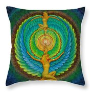 Infinite Isis Throw Pillow
