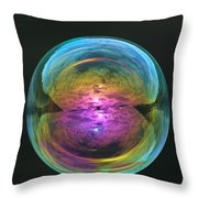 Infinite Reflections Throw Pillow