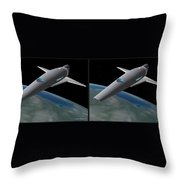 Infinity And Beyond - Gently Cross Your Eyes And Focus On The Middle Image Throw Pillow