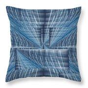 Infinity Highway Throw Pillow