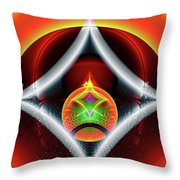Infinity Loop Throw Pillow
