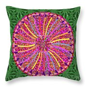 Infinity Star Flower An Abstract Fineart Expression By Navinjoshi At Fineartamerica Colorful Fun Throw Pillow