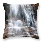 Infinity Flows Throw Pillow