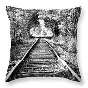 Infinity Train Throw Pillow