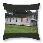 Infirmary Built In 1920s Throw Pillow