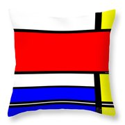 Influence From The Past  Throw Pillow