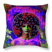 Influenza She Has Gone Viral Throw Pillow