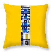 Info Sports Art Throw Pillow