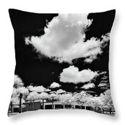 Infrared Indian River State College Hendry Campus #1 Throw Pillow