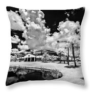 Infrared Indian River State College Hendry Campus #11 Throw Pillow