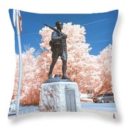 Infrared Memorial Throw Pillow