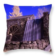 Infrared Mill 1 Throw Pillow