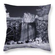 Infrared Mill 2 Throw Pillow