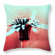 Infrared Wildflower Throw Pillow