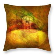 Infused... Throw Pillow